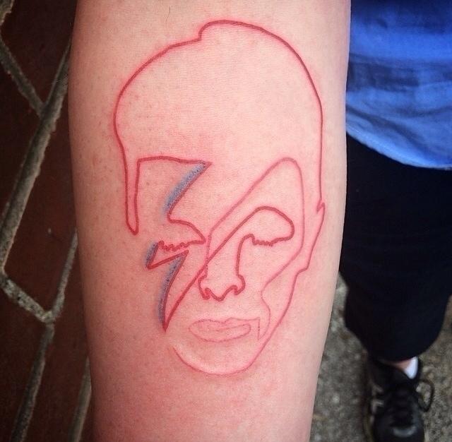 Tattoo day: oneline Aladdin San - quibe | ello