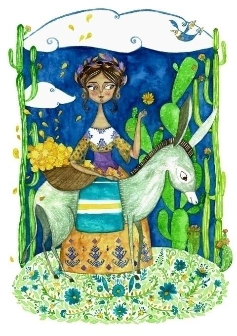 Story Mexico - illustration, mexico - plantusmarina   ello
