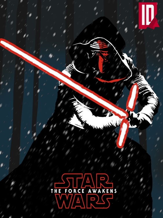 Star Wars - Force Awakens Poste - individualdesign | ello
