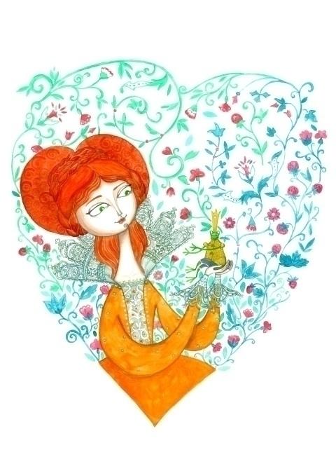 True Love - illustration, print - plantusmarina | ello