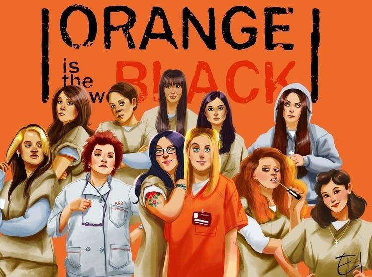 orangeisthenewblack, oitnb, fanart - el0394 | ello