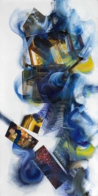 Mingus' Cumbia collage, oil ena - ritchard27 | ello