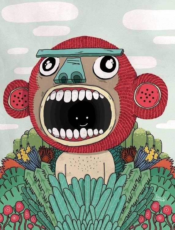 Wild life - monkey, plants, wild - franpulido | ello