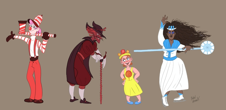Candyland redesigns - illustration - rachelgreen-3278 | ello