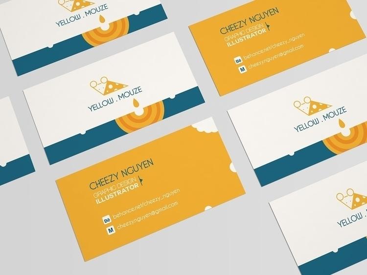 Yellow.Mouze  - illustration, branding - cheezynguyen | ello