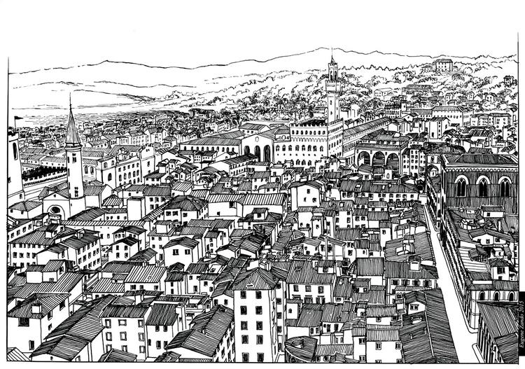 E1 - illustration, drawing - sarychev | ello