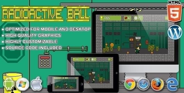 Radioactive Ball HTML5 arcade g - codethislab | ello