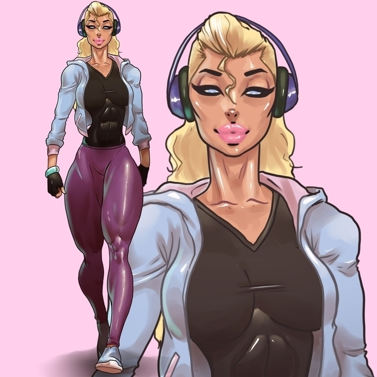 illustration, animation, characterdesign - ghandourizm | ello