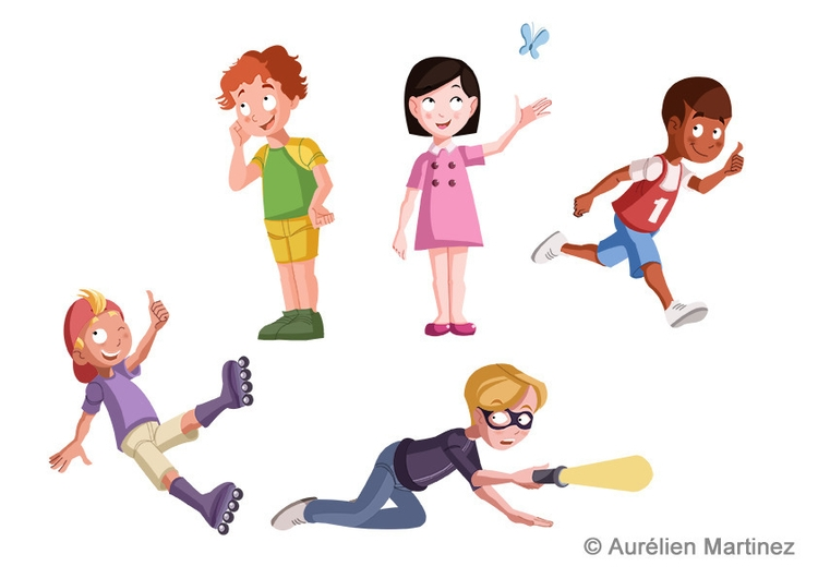 children, september 2014 - aurelienmartinez | ello