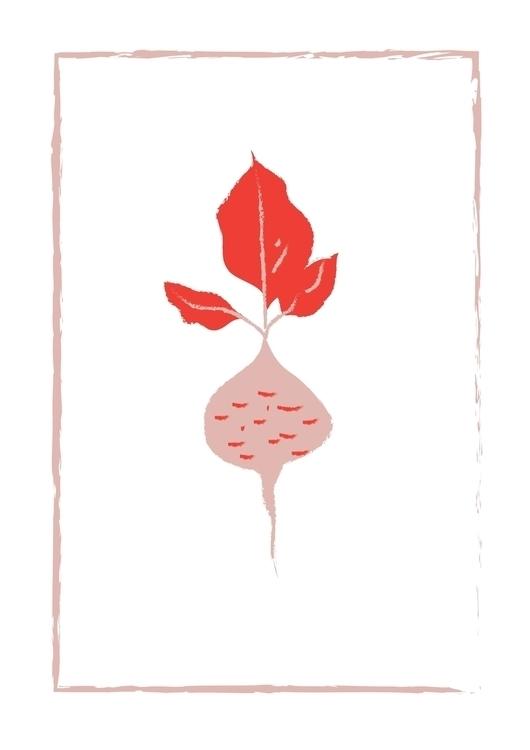 turnip, beatrizalao, illustration - beatrizalao | ello