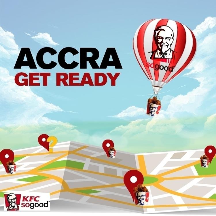 KFC Ad - conceptart, design - ransyk | ello