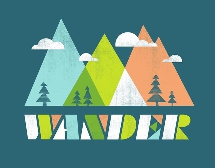 wander - travel, mountains, trees - jennytiffany | ello