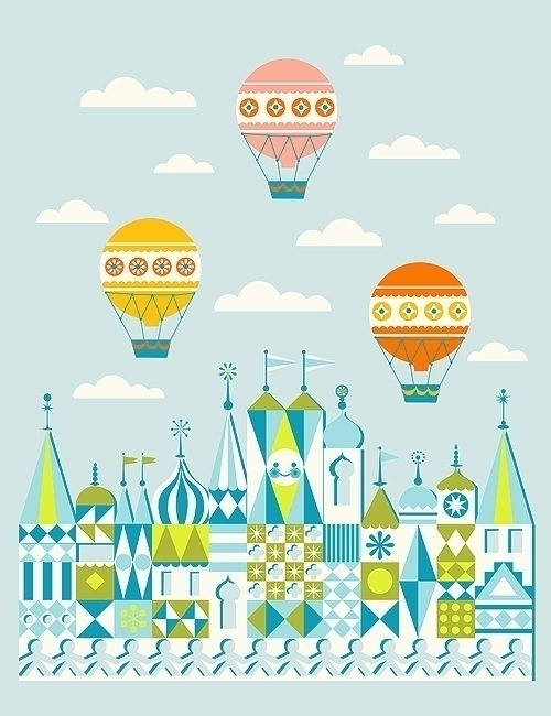 small magic - hotairballoon - jennytiffany | ello