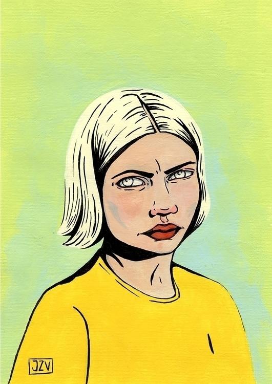 ~ Tavi - portrait, girls, character - jeezvanilla | ello