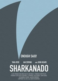 Minimal Poster movie Sharknado  - artisan3 | ello