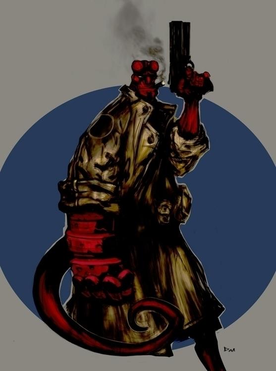 illustration, characterdesign - samrisoval | ello