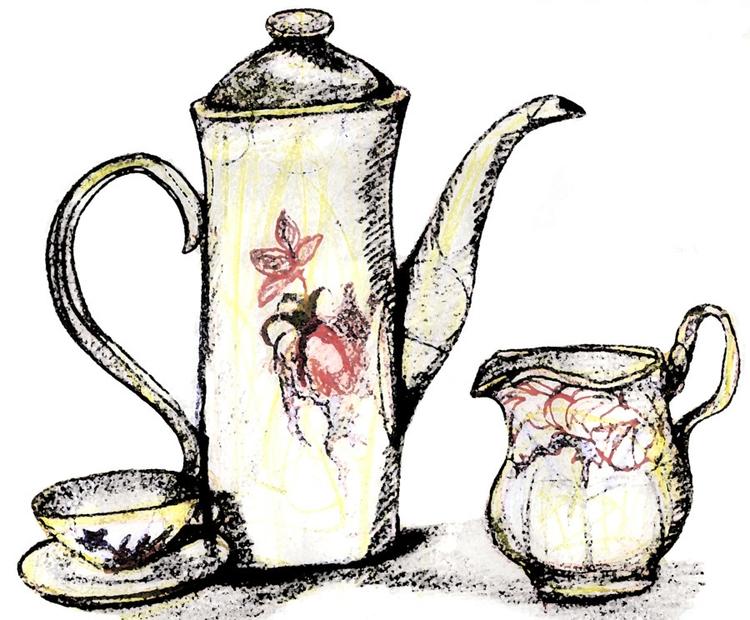 Tea set - tea, teapot, teaset, stilllife - steersky-1263 | ello