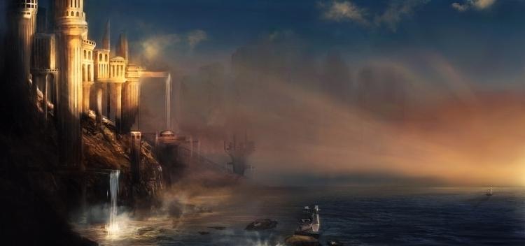 Environnement Stormbringer - illustration - aurorenivet | ello