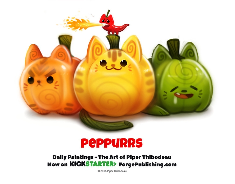 Daily 1361. Peppurrs - piperthibodeau | ello