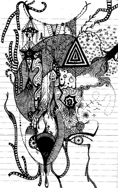 Doodle scrap - doodles, doodle, drawing - steersky-1263 | ello