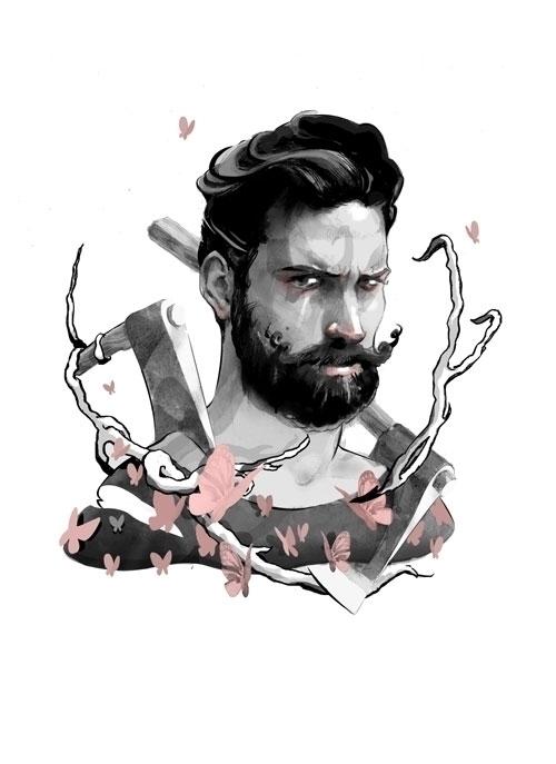illustration, portraitillustration - devashishguruji | ello