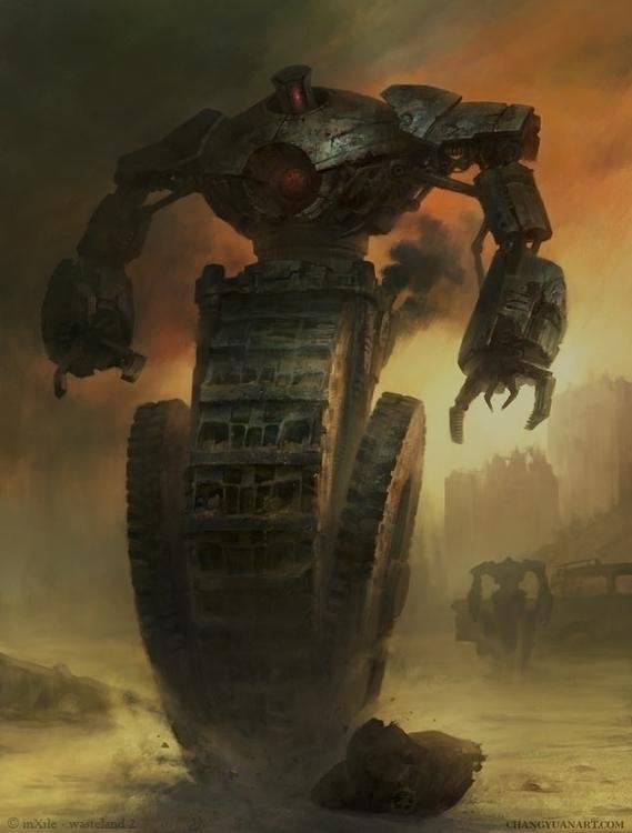Wasteland 2 - Threshing-Clawer - yuanchang | ello