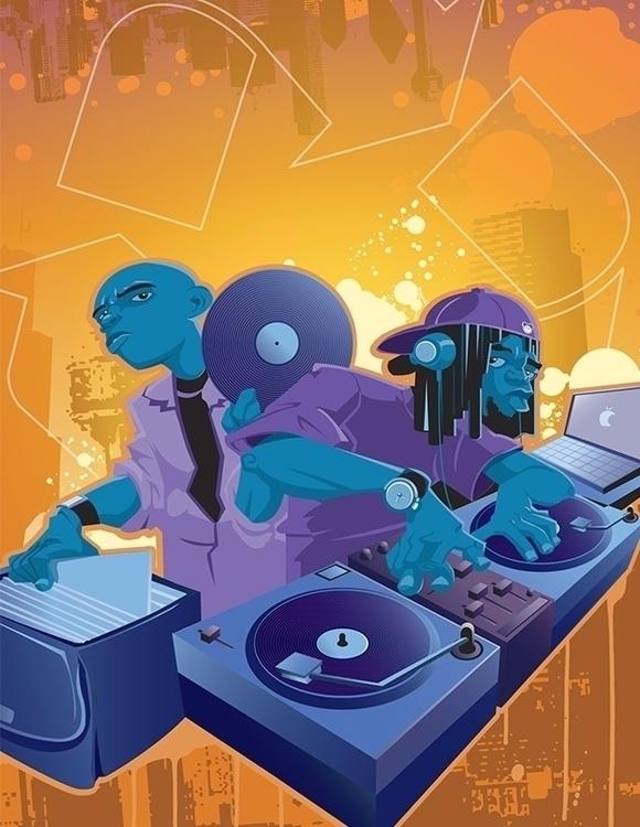 Promotional design 2 - illustration - khalidrobertson | ello