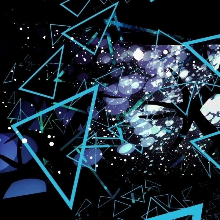 Space + Triangles - animation, electronic - monkeymesh   ello
