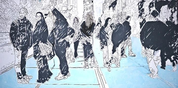 Avenue Americas - artwork, painting - koartpro | ello