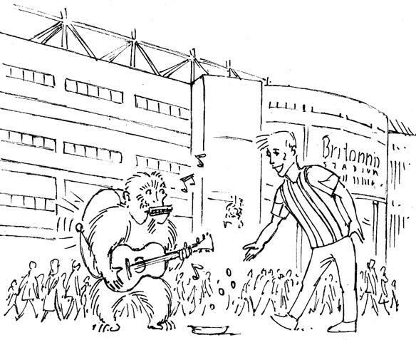 Trent Stoke - #illustration, monkey - dannybriggs | ello