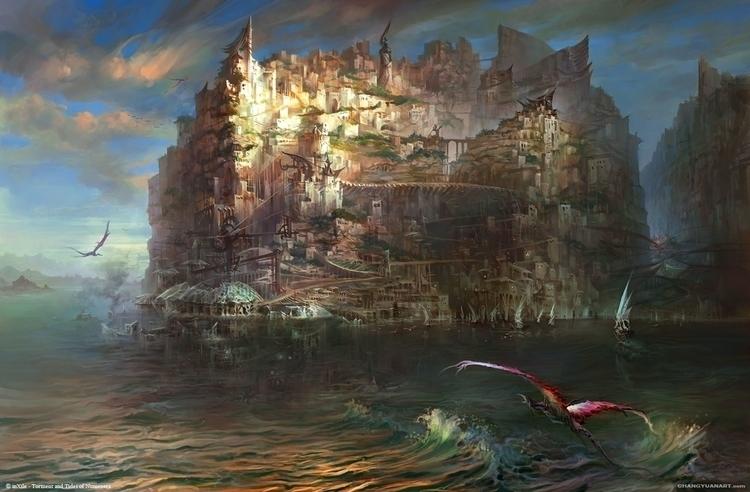 Torment Tides Numenera -Sagus C - yuanchang | ello