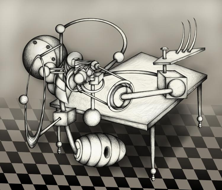 Drawn iPad Autodesk Sketchbook - kcowan | ello