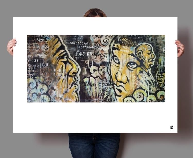 gossip - #print, illustration, painting - rblxdesigns | ello