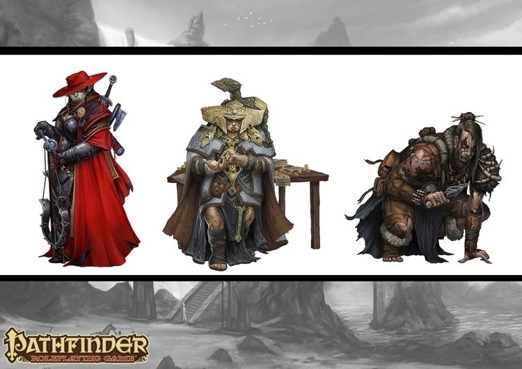 Pathfinder characters Blue-Dice - bluedice | ello