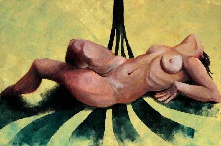 Ecstacy - painting, acrylicpaint - alesa-7823 | ello