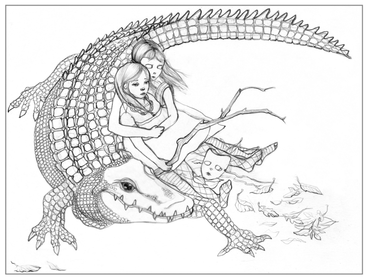 Alligator Girls 2009 – Sketchbo - amyconsolo | ello