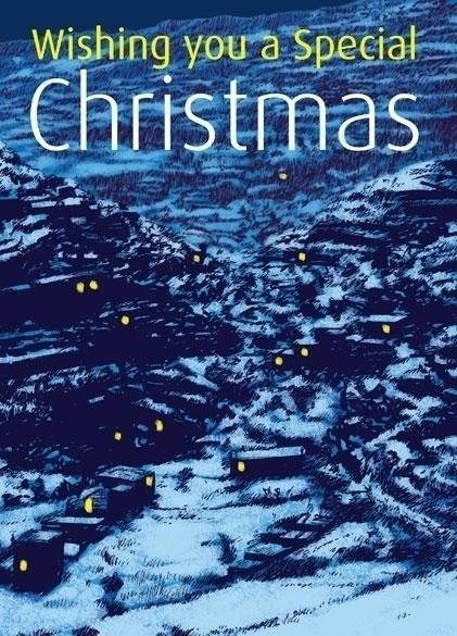 Christmas card based snowy Pale - dannybriggs | ello