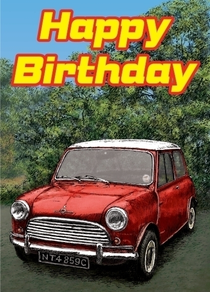Mini birthday card - #illustration - dannybriggs | ello