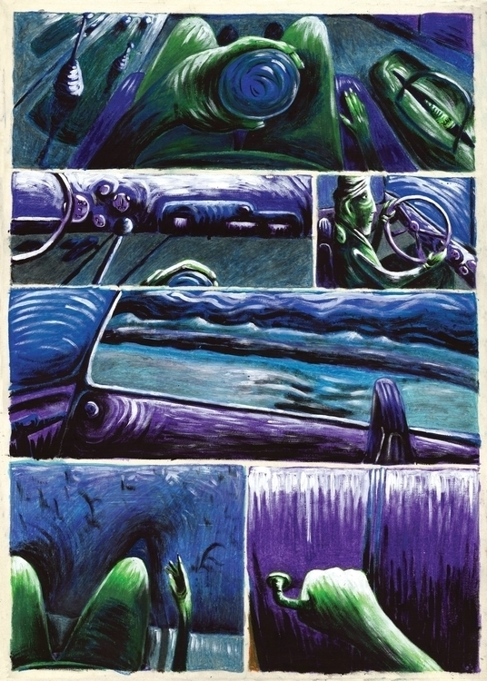 Fourth page. Acrylic oil waxes  - fagfedericaaglietti | ello
