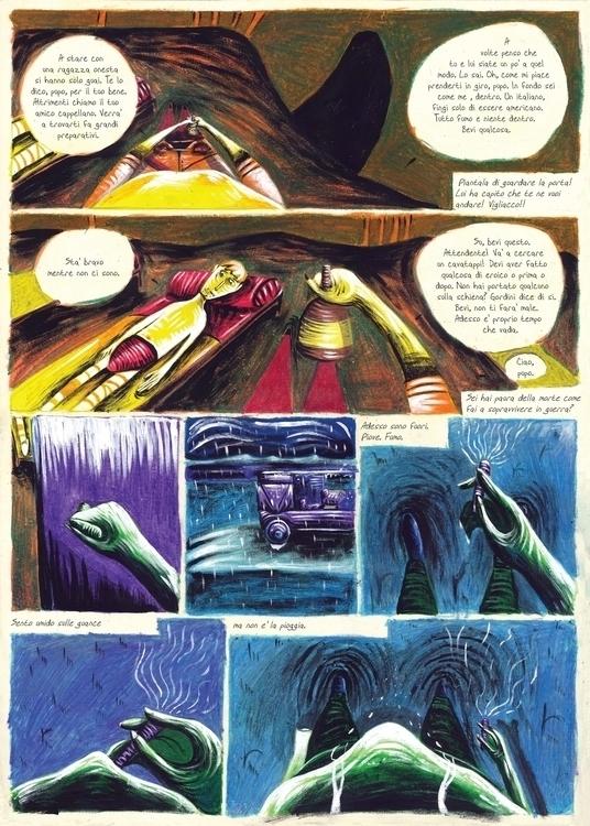 Sixth page. Acrylic oil waxes t - fagfedericaaglietti | ello