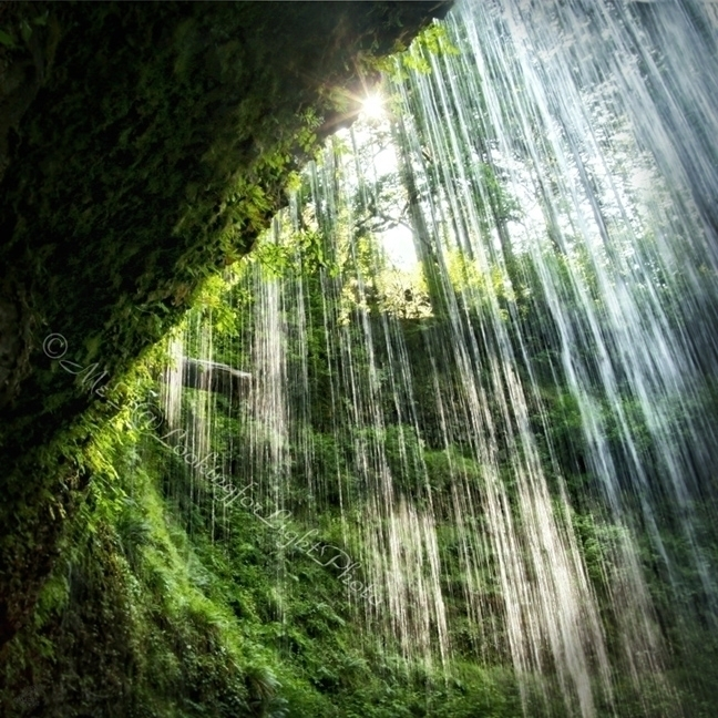 Sunlight Waterfall - sunshine, sunlight - lookinforlight | ello