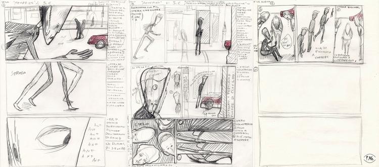Scene 1 Collaboration: Storyboa - fagfedericaaglietti | ello
