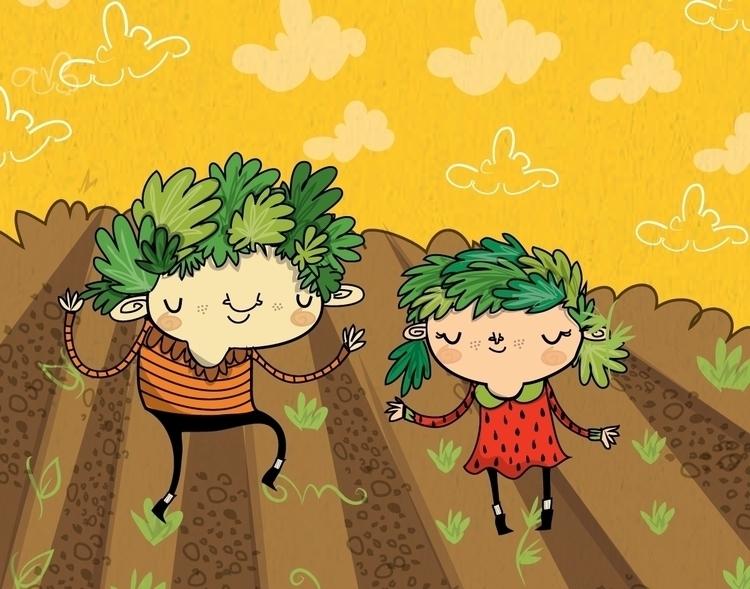 Veggie Kids - lydiajean-2936 | ello