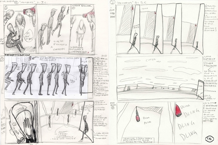 Scene 2 Collaboration: Storyboa - fagfedericaaglietti | ello