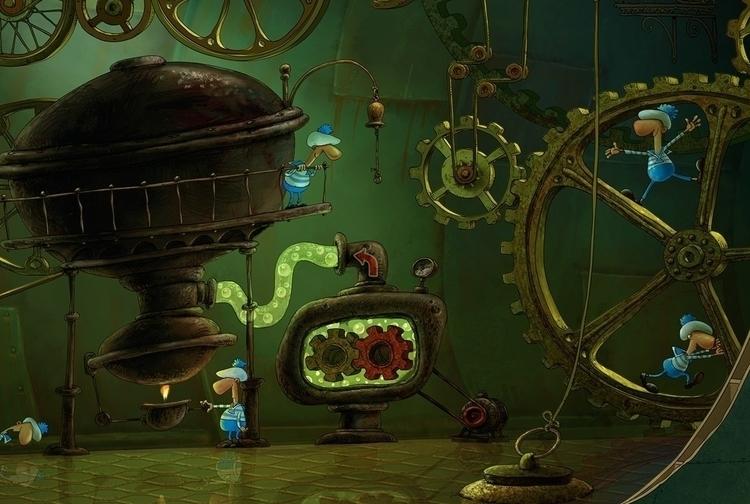 lived beneath waves - illustration - yustas | ello