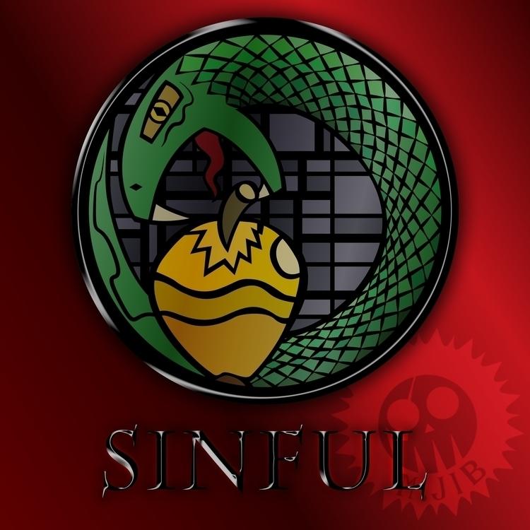 SINFUL (Logo Mockup - illustration - mjib | ello