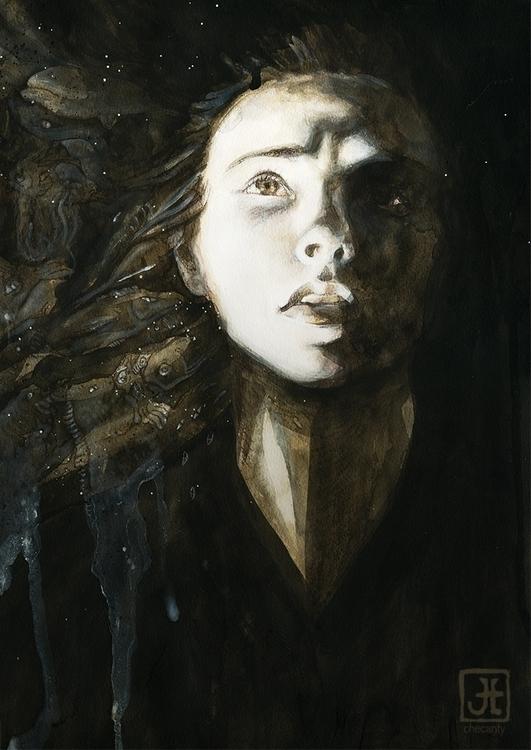 portrait, dark - checanty | ello