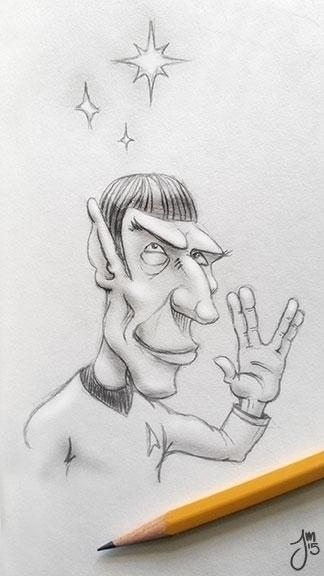 Daily Doodle late great Leonard - jasonmartin-1263 | ello