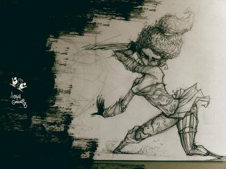Lethal Goddess - madeindark, resyken - resyken | ello