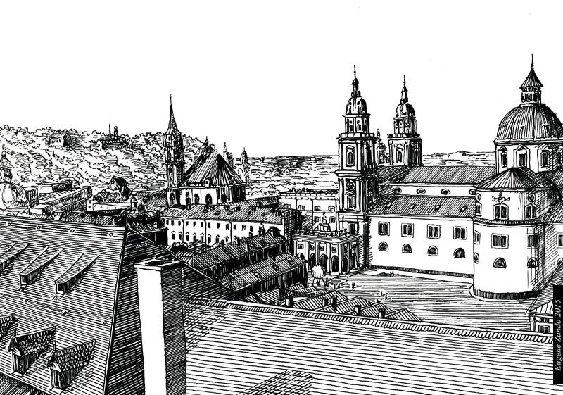 E2 - illustration, drawing - sarychev | ello